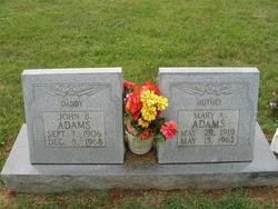 Mary Anetta <i>Cunningham</i> Adams