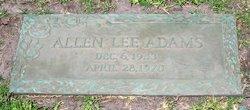 Allen Lee Adams