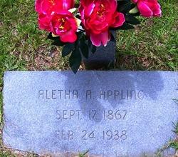 Aletha <i>Pierce</i> Appling