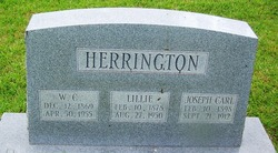 W C Herrington