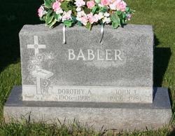 Dorothy Ann <i>Pluger</i> Babler