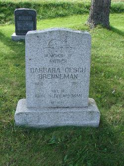 Barbara <i>Oesch</i> Brenneman