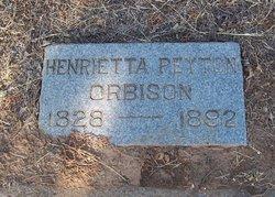 Henrietta <i>Peyton</i> Orbison