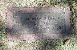 Barbara Hildred Killion