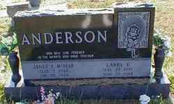 Janet E. <i>McNear</i> Anderson