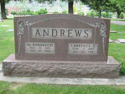Ida May <i>Rinderknecht</i> Andrews
