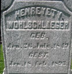 Henrietta Christine <i>Crecelius</i> Wohlschlaeger