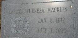 Carmen Theresa <i>Veck</i> Macklin