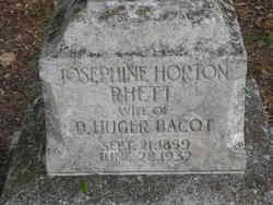 Josephine Horton <i>Rhett</i> Bacot