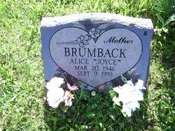 Alice Joyce Brumback