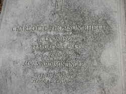Charlotte Thomson <i>Rhett</i> Ingle