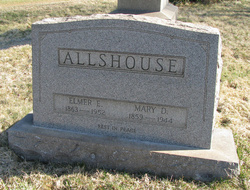 Mary D. <i>Fraas</i> Allshouse