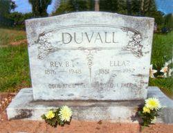 Rev Benjamin Franklin Duvall
