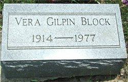 Vera <i>Gilpin</i> Block