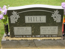 Ruth Ann <i>Badgley</i> Hill