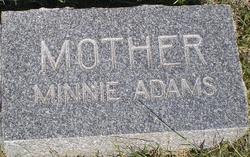 Wilhelmina Mary Minnie <i>Gunther</i> Adams