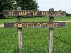 Saint Mary of the Lake Cemetery