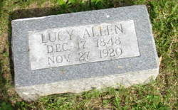 Lucy <i>Hughes</i> Allen