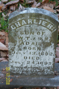Charlie B Adair