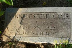 Minnie Estele Adair