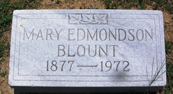 Mary <i>Edmundson</i> Blount