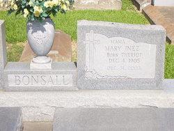 Mary Inez <i>Theriot</i> Bonsall