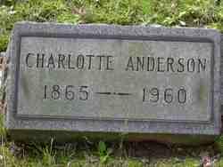 Charlotte <i>Newman</i> Anderson