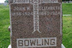 Elizabeth <i>Hedrick</i> Bowling