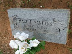 Maggie Sanders