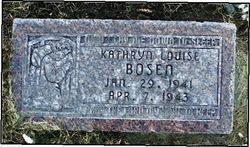 Kathryn Louise Bosen