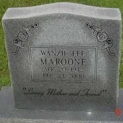 Wanzie Lee Maroone