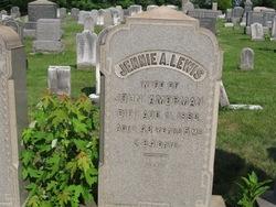 Jennifer A. Jennie <i>Lewis</i> Amerman