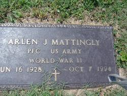 PFC Arlen Joseph Joe Mattingly