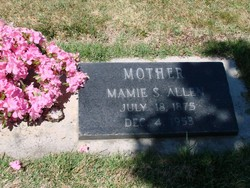 Susan Mary Mamie <i>Russell</i> Allen