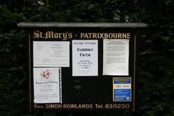 Patrixbourne, St Mary Churchyard