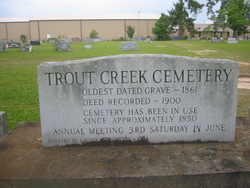 Trout Creek Cemetery