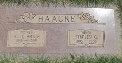 Alice <i>Hatch</i> Haacke