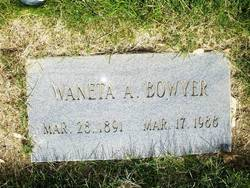 Waneta Alice Bowyer