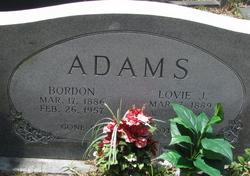 Lovie J Adams