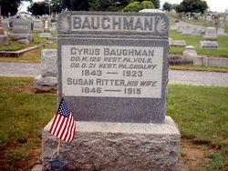 Susan <i>Ritter</i> Baughman