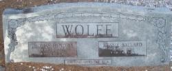Bessie <i>Ballard</i> Wolfe