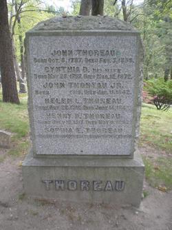 Cynthia <i>Dunbar</i> Thoreau
