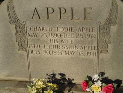 Effie F. <i>Chrismon</i> Apple