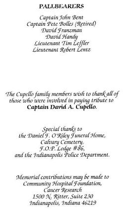Capt David A Cupello
