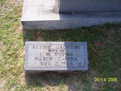 Bessie <i>Jackson</i> Flynn