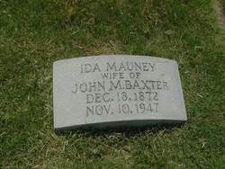 Ida Catherine <i>Mauney</i> Baxter