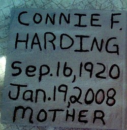 Connie Frances <i>Pullen</i> Harding