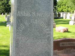 Anna Bertha Annie <i>Myers</i> Caldwell