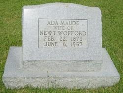 Ada Maude <i>Sexton</i> Wofford