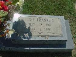 Elsie <i>Franklin</i> Baxter
